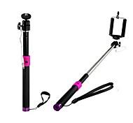 POPLAR Handheld Monopod with Mobile Phone Holder for Android & iOS Phones