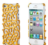 Court Flower Hollow Out Mobile Phone Protection Shell for iPhone 5/5S (Assorted Colors)