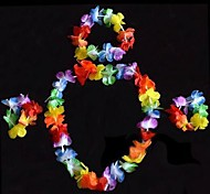Hawaii Flower Garland Carnival Accessories