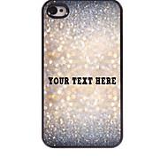 personalizzato phone caso - caso di disegno del metallo scintilla per iPhone 4 / 4S