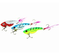 1 pcs Hard Bait / Metal Bait / Vibration/VIB / Fishing Lures Metal Bait / Hard Bait / Vibration/VIB Green / Red / Blue / Random Colors g/