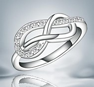 Sweet Two 8 Shape Statement RIng For Women (1 pc)