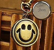 Personalized Gift Alloy Watch Engraved  Key Buckle