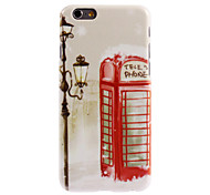 Telephone Pattern PC Hard Case for iPhone 6