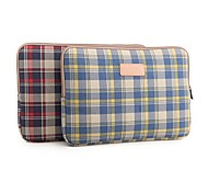 LISEN 10'' 11'' 12'' Plaid Pattern Protective Sleeve Laptop Computer Bag (Assorted Colors)