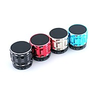 SBP28 Mini Metal Stereo Speaker Bluetooth 3.0 with Microphone/ TF Cards/MP3/Radio