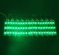IP65 Waterproof 0.6W 5050SMD Green Light LED Module Hard Strip Bar Light Lamp (DC 12V, 20pcs)
