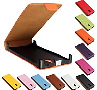 Flip-Open Solid Color Pattern Genuine Leather Full Body Case for Sony Xperia P LT22i  (Assorted Color)