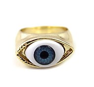 Punk Act the Role Ofing is Tasted Vintage Blue Eyes Ring