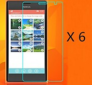(6 pcs)High Definition Screen Protector for Nokia Lumia 730