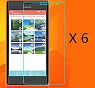 (6 Stück) High-Definition-Display-Schutz für Nokia Lumia 730