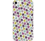 Colorful Little Flower Pattern Back Case for iPhone 6