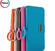 promotion sept wei étuis en cuir série de téléphone pour samsung i9300 de la (couleurs assorties)