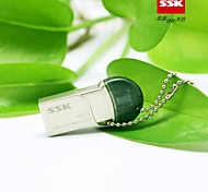 SSK OTG USB SFD238 16GB Metal Flash Drive Pen Drive with Twin Connector for Smart Phone and Computer Waterproof