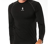 WOLFBIKE Men's Long Sleeve Base Undershirt Breathable Cycling Jersey