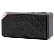 Portable Bluetooth Speaker with MicroSD Card Slot USB Slot Microphone Assorted Color