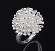 Woman's Fashion  Firework  Silver Ring