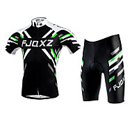 FJQXZ® Cycling Jersey with Shorts Unisex Short Sleeve Bike Breathable / Quick Dry / Ultraviolet Resistant Jersey / Clothing Sets/Suits