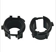 Car HID Bulb Holder Socket Adapter for KIA K3--2PCS