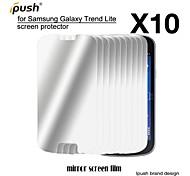protetor de alta transparência espelho lcd de tela para Samsung Lite tendência galáxia s7390 (10 peças)