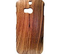 Kyuet Wooden Case Natural Handcrafted Zebra Wood Shell Cover Skin Cell Phone Case for Htc One M8