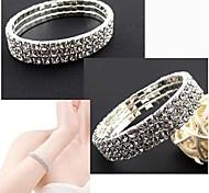 Shining Diamond Stretch Bracelet #34-1