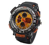 Relógio Esportivo (LED/Resistente à Água) - Analógico-Digital - Quartz