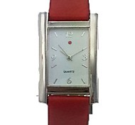 Women's Analog Alloy Case Square Dial PU Band Quartz Watch Women's Watch Women Fashion Watch Gift Watch(Assorted Colors)