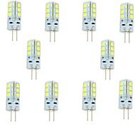 Capsule alogene 24 SMD 2835 G4 3 W 270 LM Bianco caldo/Luce fredda 10 pezzi DC 12 V