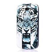 motif tigre mince couverture de cas difficile pour les Samsung Galaxy S i9300