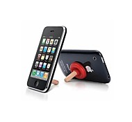 colorido pequenas pluggers ventosa de silicone tripé telefone portátil universal para iphone e outros (cores sortidas)
