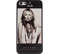The Woman Design Aluminum Hard Case for iPhone 4/4S