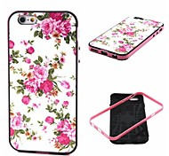Flowers Pattern Back Case Cover for  iPhone6