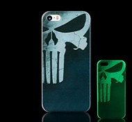 Skull Pattern Glow in the Dark Hard Case for iPhone 4/4S