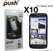 protetor de tela LCD HD de alta transparência para Huawei G610 (10 peças)