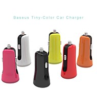BASEUS™ Universal Intelligent Mini Dual USB Port Car Charger for iPhone 6/6 Plus/5S/iPad/iPad mini/iPod and Others