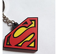 Keychain with Soft Plastic Material(1pc)