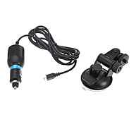 DC5V 1A Car Charger with Adjustable Car Bracket