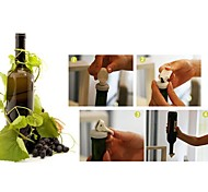 3 шт охраны окружающей среды резина бутылка вилка пыли вакуум (случайный цвет)