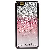 Personalized Phone Case - Shimmering Powder Design Metal Case for iPhone 5C