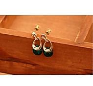 Fashion Zirconia And Metallic Earring #65-1