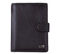 lk503si hochwertigen Herrenmodegeschäft des echten Leders mehrere Bildschirme Brieftasche