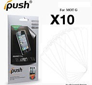 High Transparency Matte LCD Screen Protector for Motorola moto G (10 Pieces)
