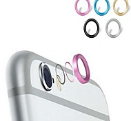 Metal Phone Lens Protector for iPhone 6 (Assorted Colors)