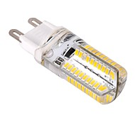 4W G9 Bombillas LED de Mazorca T 80 SMD 3014 400 lm Blanco Cálido / Blanco Fresco Regulable AC 100-240 V