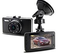 "Novatek 96,650 2.7 170 grados cámara ""3.0MP del dvr del coche h.264 hd 1080p con g3wh hdmi g-sensor"