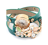Women's Hot Fashion Multilayer Leather Bracelet Watch(Assorted Colors)