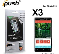 High Transparency Matte LCD Screen Protector for Nokia 830 (3 Pieces)