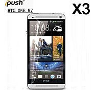High Transparency HD LCD Screen Protector for HTC One(M7) 	(3 Pieces)