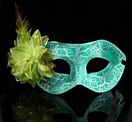 Women's Fashion Flower Carnival Party Mask(Random Color)